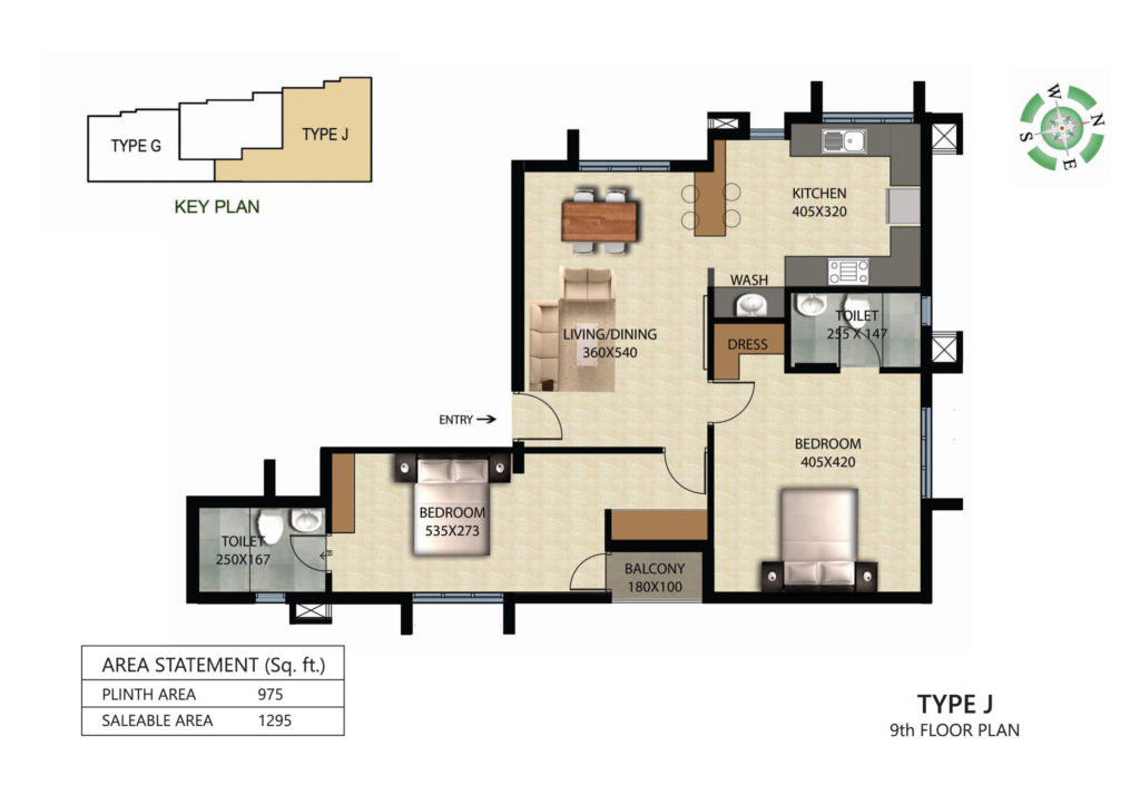 Victorian Square Floor Plan J