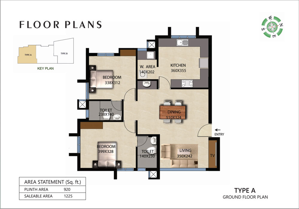 Victorian Square Floor Plan A
